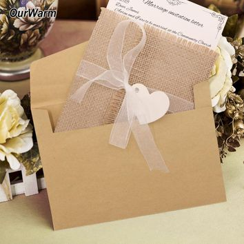 Vintage Wedding Invitation Card Kit