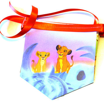 Disney's Lion King - Little Golden Book Bunting Banner - Baby Shower Banner - Baby Shower Decoration - Book Party - Golden Book Shower