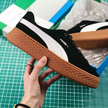Puma Suede Classic Basket Black Brown Sneakers - Best Online Sale