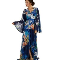 Blue Meet Me In Paradise Dress