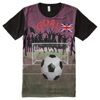England All-Over Printed T-Shirt All-Over Print T-shirt