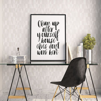 Best harry potter quotes wall decor products on wanelo for Room decor harry potter