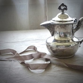 Antique Silver Creamer