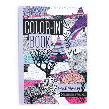 OOLY Sweet Whimsy Travel Size Color-in' Book