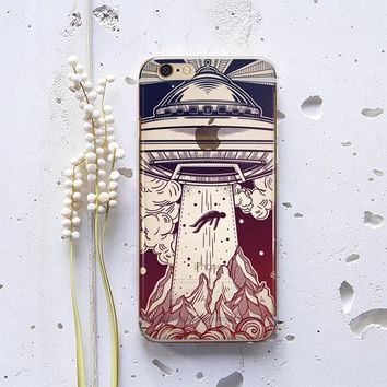 I Want To Believe UFO Aliens Phone Case
