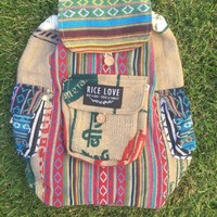 Recycled Travel Backpack #Jaipur