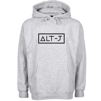 alt j Hoodie Sweatshirt Sweater Shirt Gray and beauty variant color for Unisex size