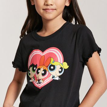 Girls Powerpuff Girls Graphic Tee (Kids)
