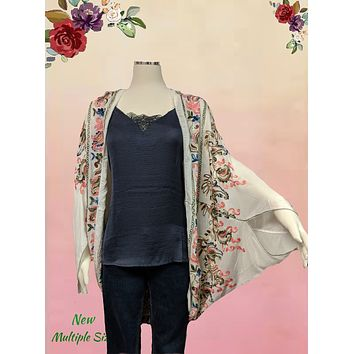 Chelsea and Violet  beautiful embroidered wrap sizes x/s to large