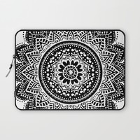 mandala Laptop Sleeve by Haroulita
