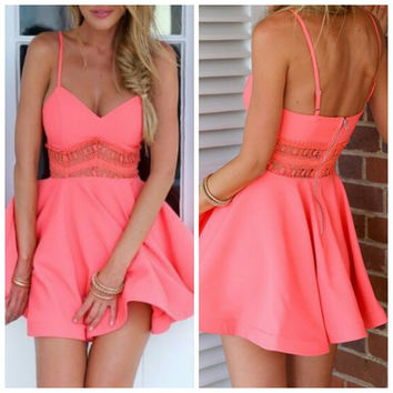 Tangerine Dream Dress