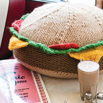 Big Bad Burger Knitting Pattern Download