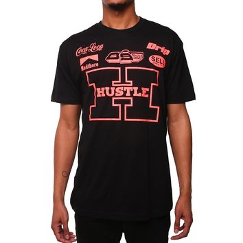 Team Hustle T Shirt Infrared