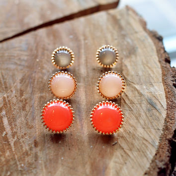 Coral Fever Earrings