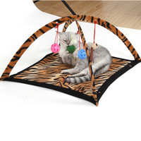 Cat Tent Bed with Toys