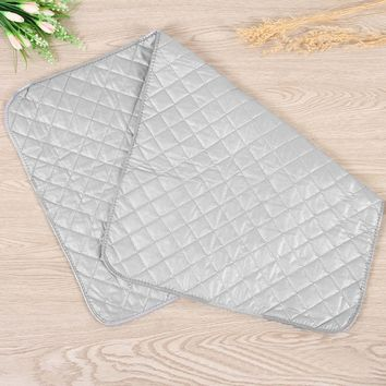 Pure Cotton New Ironing Board Folding Pads Mat Protective Press Mesh Iron Heat-resistant Board Cover Blanket 48 x 85cm