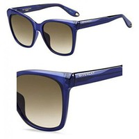 Sunglasses Givenchy Gv 7069 /S 0PJP Blue / HA brown gradient lens