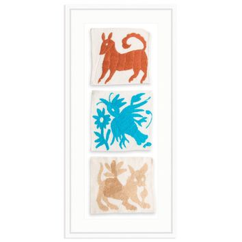 Framed Otomi Trio
