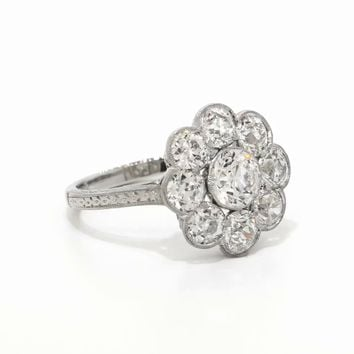 Platinum The Marcelle Ring