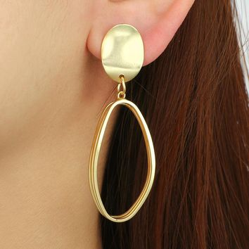 Drop Dangle Earrings Abstract Art