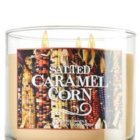 3-Wick Candle Salted Caramel Corn