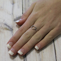 Cat Midi ring, Ring, Knuckle Ring, Fashion ring, Accessory kitty above the knuckle By hot2own
