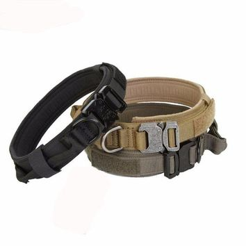Tactical Style Dog Collars