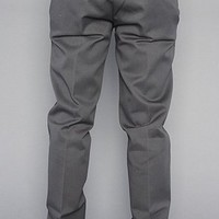 Dickies The Slim Straight Work Pants in Charcoal,Pants for Men