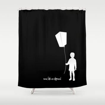 Some kids are different - Boy Shower Curtain by HappyMelvin