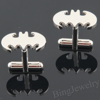 Mens Cufflinks Batman Cuff links- Geekery Super hero Cufflinks Design Personalized Man Cufflink, Mens Gift Ideas