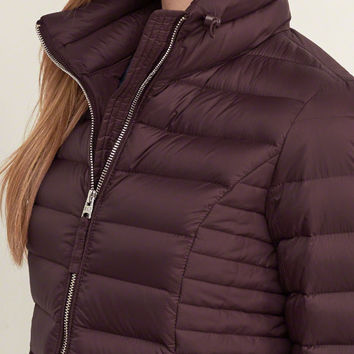 A&F Down Series Lightweight Puffer Jacket