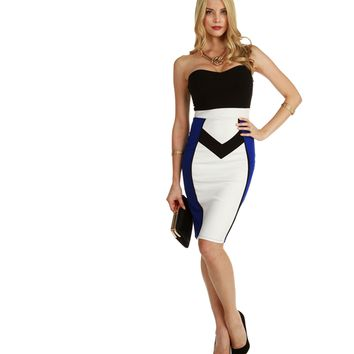 Royal Downtown Midi Dress