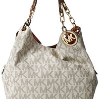 Michael Michael Kors Fulton Large Leather Shoulder Tote