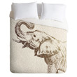 Belle13 The Wisest Elephant Duvet Cover