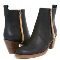 Pistol Short Boots - Black Contrast at Gargyle