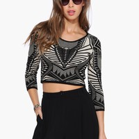 Time Capsule Cropped Sweater