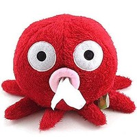 Lovely Octopus Design Tissue Paper Box Holder Unique Gifts Home Decoration (red)