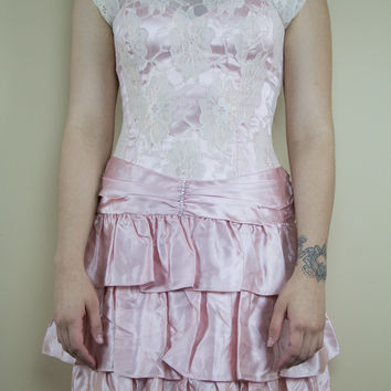All Frills Vintage Dress