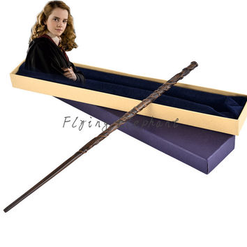 Metal Core Hermione Granger Magic Wand/ Harry Potter Magical Wands/Quality Gift Box Packing- Best Christmas Gift