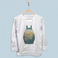 Long Sleeve T-shirt - Totoro Logo