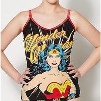 Wonder Woman Tank Top and Panties Set - DC Comics - Spencer's