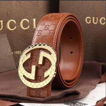 DCCKON GUCCI BELT AND BOX MEN WOMEN MESSENGER BAG SHIRT