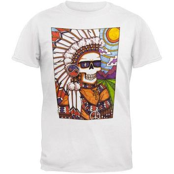 PEAPGQ9 Grateful Dead - Indian Chief T-Shirt