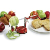 Norpro 865R Apple Master-Apple, Potato, Parer, Slicer & Corer with Vacuum Base & Clamp