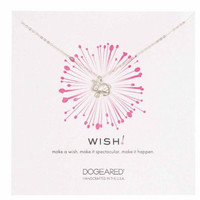 Dogeared Sterling Silver Wish Rabbit Necklace