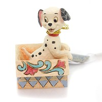 Jim Shore Lucky In A Box Mini Figurine