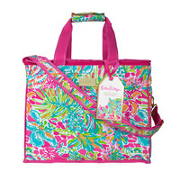Lilly Pulitzer Insulated Beach Cooler- Spot Ya