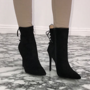 Summit Ankle Booties - Black