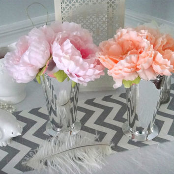 Pink Peony Centerpieces Home Decor, Easter Centerpieces, Baby Shower Decor, Flower Arrangements