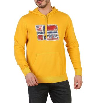 Napapijri Men Yellow Sweatshirts